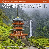 "Wonders of The World Wall Calendar 2019 Monthly January-December 12"" x 12"" [並行輸入品]"