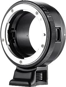 VILTROX NF-NEXマウント アダプターリング ニコン G/F/AI/S/Dレンズ →ソニー Eマウント カメラ A7/A7R/NEX-5/NEX-3/NEX-5N/NEX-C3/NEX-5R/NEX-F3/NEX-6/NEX-7/NEX-VG10/VG20/VG30用