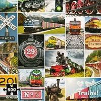 Trains 。–500ピースパズル