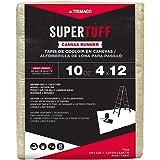 Trimaco 51127 SuperTuff Drop Cloth, 4' X 12', Tan