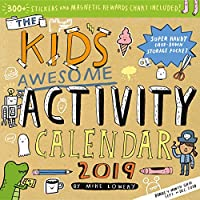Kid's Awesome Activity 2019 Calendar: Includes 300+ Stickers and Magnetic Rewards Chart