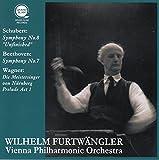 シューベルト : 交響曲 第8番 「未完成」 | ベートーヴェン : 交響曲 第7番 | ワーグナー : 楽劇 「ニュルンベルクのマイスタージンガー」 (Schubert : Symphony No.8 ''Unfinished'' | Beethoven : Symphony No.7 | Wagner : Die Meistersinger von Nurnberg Prelude Act 1 / Wilhelm Furtwangler | Vienna Philharmonic Orchestra) [CD]