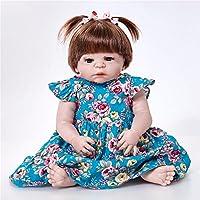 PKJOkmjko オールシリコンの人形の生まれ変わりな女の子の人形23寸58センチ迫真姫の子供のおもちゃの子供の誕生日プレゼント