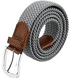[マイクイーン]maikun ベルト メンズ カジュアル おおきいサイズ メンズベルト ゴムベルト メッシュベルト belt おしゃれ 7色展開