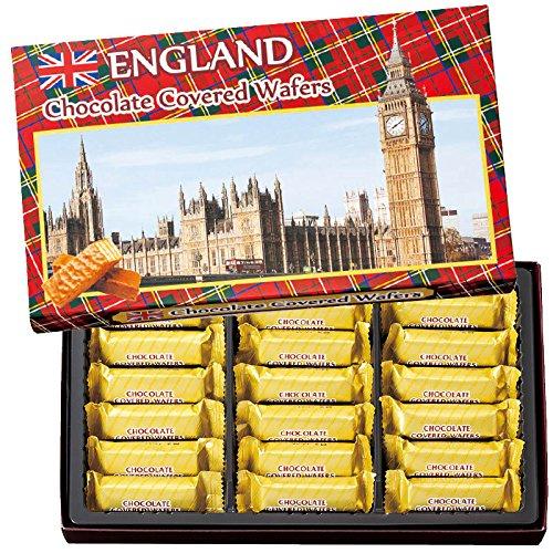 イギリス 土産 イギリス チョコウエハース 1箱 (海外旅行 イギリス お土産)