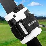 ZOEA Magnetic Rangefinder Mount Strap for Golf Cart Railing, Adjustable Rangefinder Mount/Holder/Strap/Band with Strong Magne