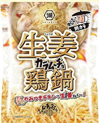 湖池屋 鍋カラムーチョ生姜鶏鍋 90g ×12袋