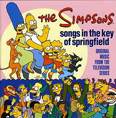 The Simpsons: Songs In The Key Of Springfield - Original Music From The Television Series