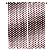 遮光カーテン ジオメトリー ドレープカーテン おしゃれ 断熱 遮熱 防音 昼夜目隠し 遮像 デコレーション 洗濯可 取り付け簡単 100cmx160cmx2