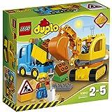 LEGO DUPLO Truck & Tracked Excavator 10812 Playset Toy