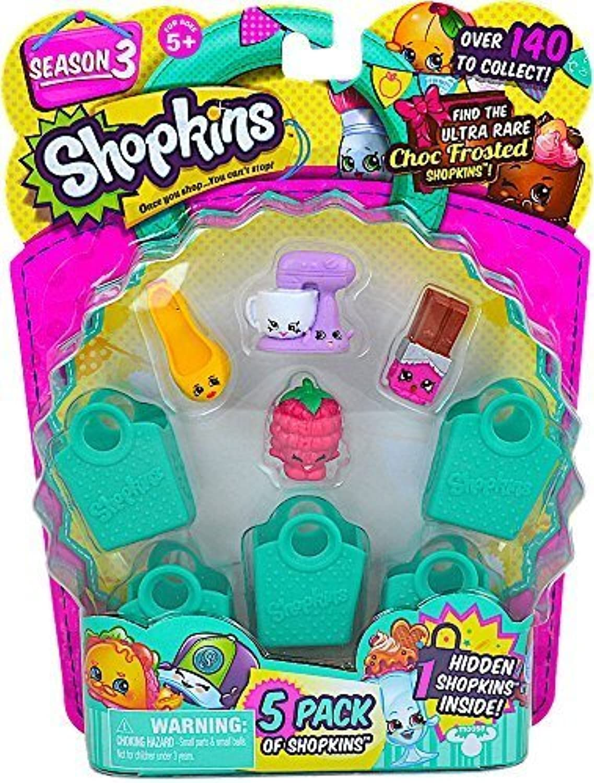 Shopkins Season 3 (5 Pack) Set 59 by Moose Toys [並行輸入品]