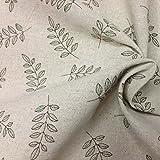 IRIZ 130*90cm 綿 麻 布コットン リネン刺繍 生地 ハンドメイド手芸裁縫用 吸水速乾抗菌