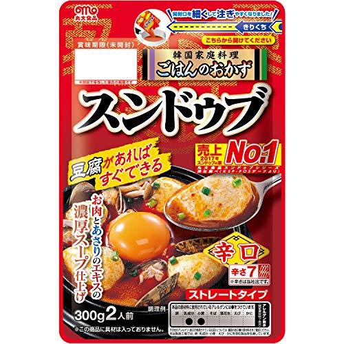 丸大食品 豆腐でつくるチゲの素 スンドゥブ パウチ 300g