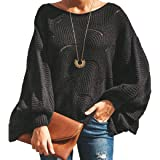 Women's Knitted Jumper Tops Hollowed Tunic Tops Irregular Hem Causal Long Sleeve Knitting Sweatshirts