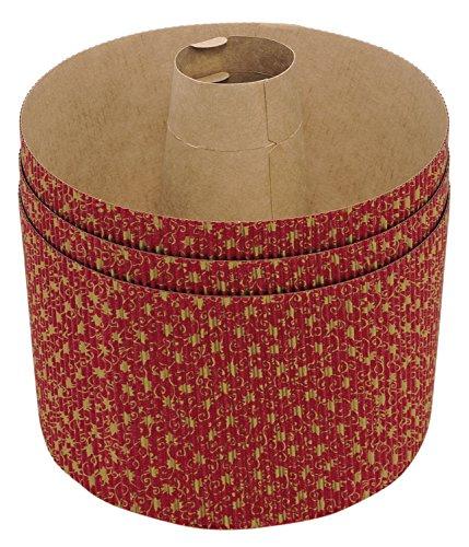 貝印 紙製 シフォンケーキ型 (3枚入) プレゼント に便利 Kai House Select DL-6138