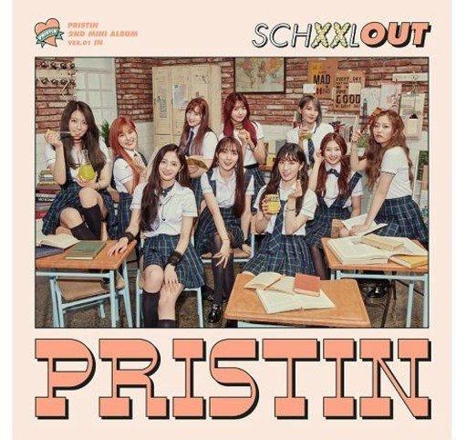 Pristin 2ndミニアルバム - SCHXXL OUT (IN Version)