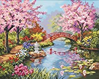 Dimensions Needlecrafts Paintworks Paint By Number, Japanese Garden (91415) [並行輸入品]