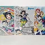 7- Eleven限定ラブライブ。Sunshine!!Aqours(アクア)クリアファイルセットYoshiko Tsushima Sega