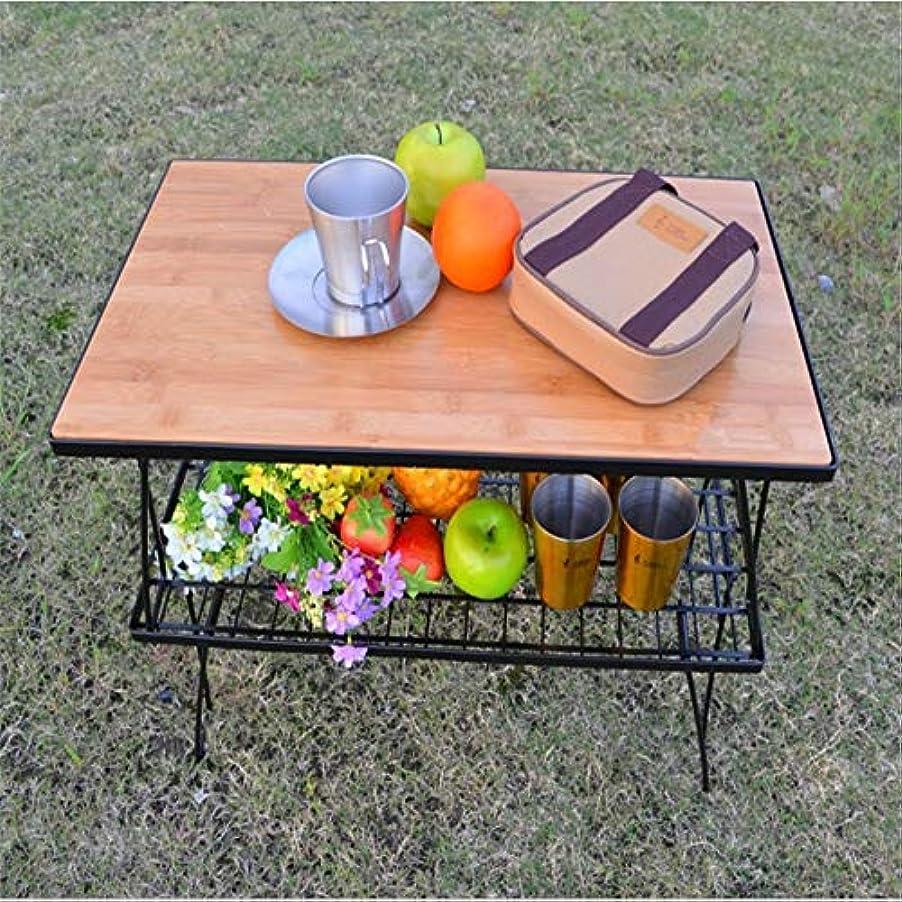 キャンセル満足境界携帯用テーブルを折ることのための屋外のキャンプか屋外のバーベキューのために適した アウトドア キャンプ用