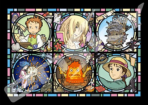 208ピース ジグソーパズル ハウルの動く城 魔法の城便り アートクリスタルジグソー(18.2x25.7cm)