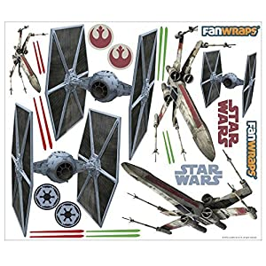 FanWraps Star Wars スターウォーズ TIE/X-Wing Vehicle Graphics Kit Small [並行輸入品]