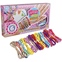 bidlsbsカラフルDIY Girls友情ブレスレットMakingキットArts and Crafts for Girls – Best誕生日/クリスマスギフト/おもちゃ/ DIY for Kids