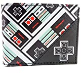 NES Controller Patterned Bi-Fold Wallet (輸入版)