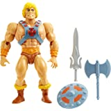 Masters of the Universe Origins He-Man Action Figure, Battle Character for Storytelling Play and Display, Gift for 6 to 10 Ye