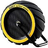 Aukey 防水 Bluetooth スピーカー 耐衝撃 アウトドア ワイヤレス スピーカー (イエロー) SK-M4