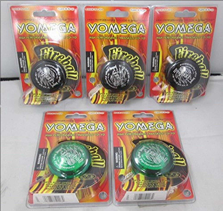 Yomega: Fireball Yo-Yo 5点セット