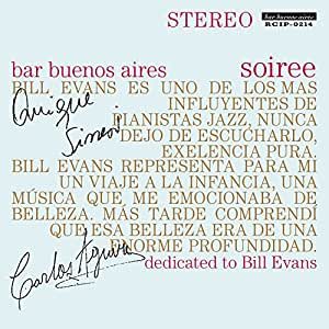 bar buenos aires soiree – dedicated to Bill Evans