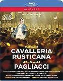 マスカーニ:歌劇「カヴァレリア・ルスティカーナ」/レオンカヴァッロ:歌劇「道化師」[Blu-ray, 2枚組]