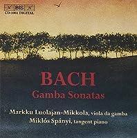 Sonatas For Viola Da Gamba And by J.S. BACH (2000-03-01)