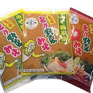 まつや とり野菜みそ200g 3袋セット (レギュラー2+ピリ辛1) | 味噌 通販