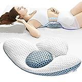 腰枕 就寝 低反発腰枕 腰まくら 腰 クッション 多機能 洗える敬老の日