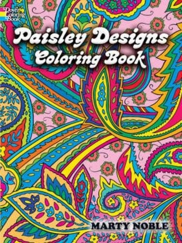 Download Paisley Designs Coloring Book (Dover Design Coloring Books) 0486456420