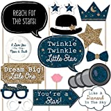 Twinkle Twinkle Little Star – ベビーシャワーまたは誕生日写真ブース小道具キット – 20カウント