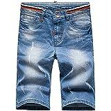 Victory Man(ビクトリー メンズ)ショートパンツ メンズ 短パン ハーフパンツ デニムショーツ カジュアル デニム ファション