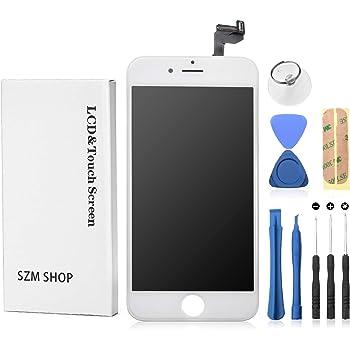 f602c30e45 SZM iPhone6s 4.7インチ交換修理用 フロントパネル デジタイザーLCD スクリーン 3Dタッチスクリーン液晶