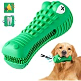 Durable Dog Chew Toy for Aggressive Chewers Large Breed Treat Dental Squeaky Dog Toys for Medium Large Dogs(Green, Crocodile)