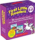 First Little Readers Parent Pack - Guided Reading, Levels E F: 16 Irresistible Books That Are Just the Right Level for Growing Readers
