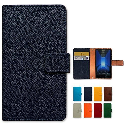 iphone 6s iPhone 6 用 大人の型押し 手帳型 ケース カバー 内側ケース:黒TPU手帳 iphone6 iphone6s iphone6ケース iphone6カバー iphone6sケース iphone6sカバー ノーブランド品 アビスブルー