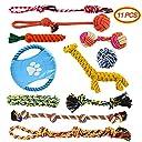 犬おもちゃ 犬ロープ おもちゃ 噛むおもちゃ 11個セット ストレス解消 歯磨き 丈夫 耐久性 小 中型犬に適応 Docatgo