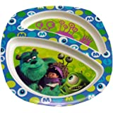 Disney Monsters Inc Two Section Plastic Plate by The First Years