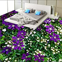 Sproud カスタマイズされた不織布壁紙花緑工場現実的な 3 D 階の絵画の背景の壁 300 Cmx 210 Cm
