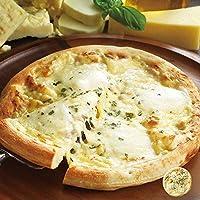 ナポリ風4種類のチーズ入りピッツァ