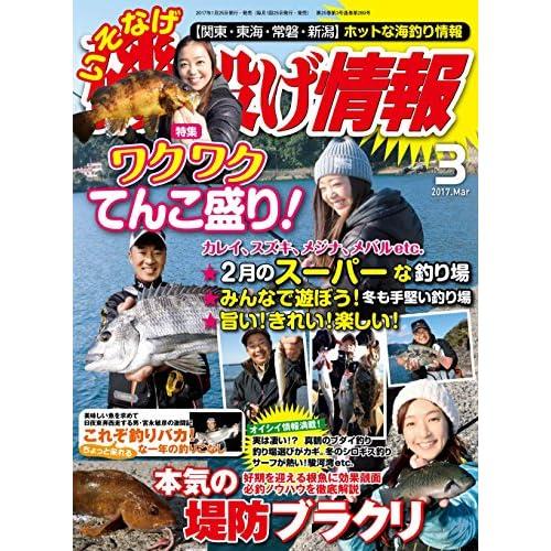 磯・投げ情報 2017年 03月号 [雑誌] (BIG1シリーズ)