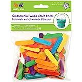 "Mini Craft Sticks-Colored 2.6"" 120/Pkg"
