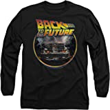Popfunk Back to The Future Delorean Longsleeve T Shirt & Stickers