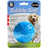 Pet Qwerks Talking Babble Ball Interactive Dog Toys - Wisecracks & Makes Funny Sounds, Electronic Talking Treat Ball That Tal
